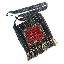 Handcrafted Boho Multi-Color Gobelin Crossbody Bag