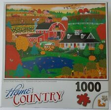 Apple Pond Farm Fall Home Country 1000 Piece Puzzle Sealed