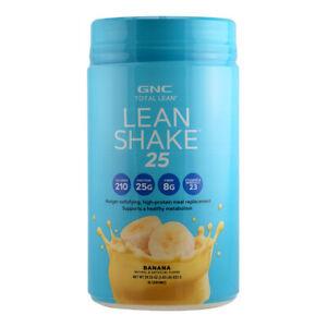 GNC Total Lean Lean Shake 25 Banana- 16 Servings (1.83LB)