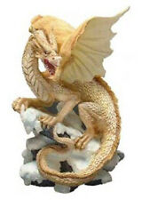 Midi Snow Dragon K104 - Tudor Mint Land of the Dragons - Fantasy Myth Statue