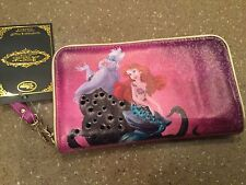 Disney Store Ariel Little Mermaid Smart Phone Wallet Ursula Brand new with Tags!