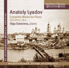 Soloviova - Lyadov: Complete Works For Piano 1 [New CD]