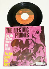 "THE ELECTRIC PRUNES - 1967 M-/VG+ 7"" Reprise PS 45 ""Get Me To The World On Time"""