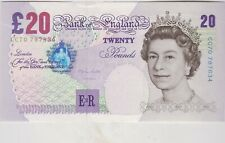 B386 LOWTHER £20 CC70 1999 BANKNOTE IN NEAR MINT CONDITION