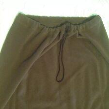 Vtg 90's Dockers Warm Soft Microfleece Skirt -Toggle Waist/Jogger/Full Length L