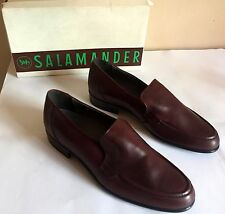 VINTAGE, MEN'S  SALAMANDER LEATHER SHOES  MADE IN W.-GERMANY NEVER USED ORIGINAL