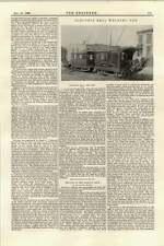 1895 saldatura elettrica ferrovia auto Johnson Company Stati Uniti