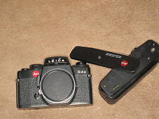 Very Clean Leica R4S 35mm SLR Film Camera Body w/Motor Winder R4 and body cap