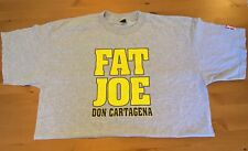 "Vintage FAT JOE ""DON CARTAGENA"" LEVI'S Promo 1998 2XL T-Shirt (BIG PUN, Hip-Hop)"