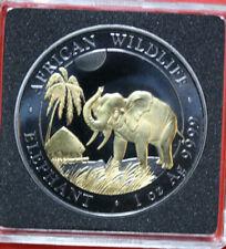 "Somalia 100 Shillings 2017 ""African Wildlife"" #F3249 Enigma Black Ruthenium"