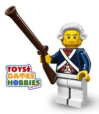 *NEW* LEGO Minifigure SERIES 10 - #12 REVOLUTIONARY SOLDIER - In SEALED Foil Bag