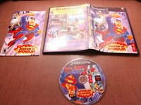 Sony PlayStation 2 PS2 CIB Complete Tested Superman Shadow of Apokolips