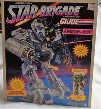 1993 Hasbro GI Joe Star Brigade Armor Bot Boxed Sealed MISB Hawk Figure FREESHIP