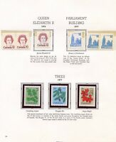 CANADA 1977 YEAR COLLECTION MINT NH AS SHOWN ON WHITE ACE  ALBUM PAGES