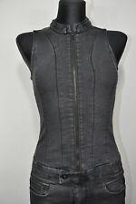 G-STAR RAW RADAR BIKER BLACK DRESS WOMENS size S
