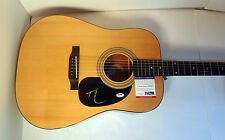 TIM MCGRAW COUNTRY SIGNED AUTOGRAPH EPIPHONE ACOUSTIC GUITAR PSA/DNA COA