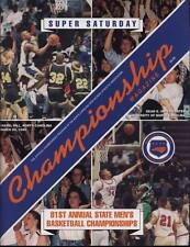High School Basketball Program 1995 N.C. State Championship H.S.