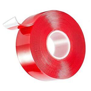 Double Sided Tape Clear Acrylic Adhesive Foam Tape Heavy Duty Waterproof Moun...