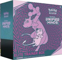 Pokemon TCG Unified Minds Elite Trainer Box 8 Booster Packs Sun & Moon