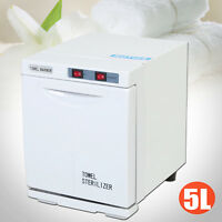 Hot Towel Warmer Cabinet 5L UV Sterilizer Heater Spa Salon Beauty Equipment