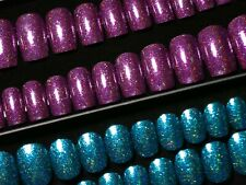 2 Sets Glitter Press On Fake False Artificial Faux Stick On Nails with Glue