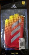 Adidas X-Lite Size 8 Soccer Football Goalkeeper Gloves DN8537 Red Yellow