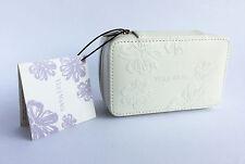 Vera Wang Small Bianco Motivo Floreale Beauty Case - 125 x 75 x 52 mm (VPU231)