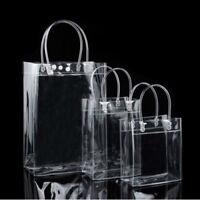 Transparent Purse Shoulder Handbag Clear Stadium Approved PVC Tote Bag Gift