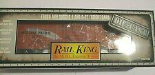 RAIL KING 30-8402 Western Pacific Die Cast Freight Box Car 0-Scale MTH NIB!!