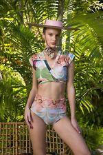 Carolina K. 'Songbird' Nina & Kuna Three Piece Swimsuit LARGE /MEDIUM
