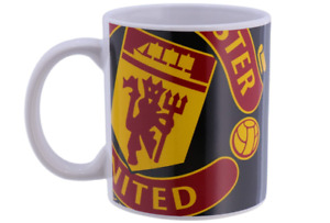 Manchester United Halftone Ceramic Coffee Mug (bst)