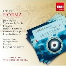 Muti/Eaglen/Mei/la scola-Norma 2 CD 44 tracks Bellini CLASSIC OPERA NEUF