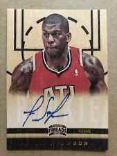 2012-13 Panini Threads Rookie Auto #198 Ivan Johnson RC Signature Card