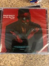 Philip Bailey ** Love Will Find A Way **BRAND NEW CD FREE SHIPPING