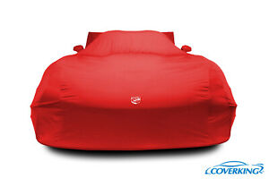Premium Indoor Satin Stretch Tailored Car Cover for Dodge Viper - with Logo