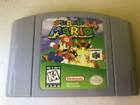 Suoer Mario 64 Nintendo N-64 Game. Authentic and Tested. Game Cartridge Only.