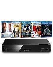 Panasonic: Blu-Ray Player + 5 BLU-RAY Bundle (Zoom esclusivo bundle Hardware)