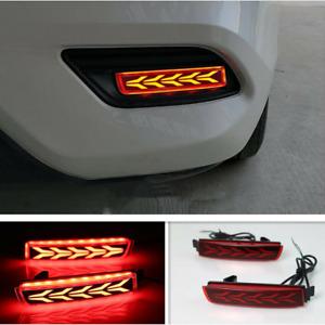 For Nissan Sentra 2013-2019 LED Rear Fog Light Tail Bumper Light Sets