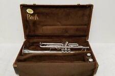 Bach Stradivarius Model 37 Silver Vintage Trumpet #259762, 2 MP, Case