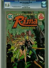 RIMA THE JUNGLE GIRL #3 CGC 9.6 NEAR MINT + 1974 OFF WHITE TO WHITE PAGES DC
