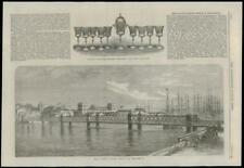 1868 l'Amérique du Sud Brésil Pernambuco Pont National Volunteer Artillery (154)