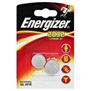8 x Energizer CR2032 BR2032, SB-T15 3V Lithium Coin Cell Battery