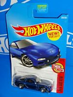 Hot Wheels New For 2017 Then And Now Series #336 '95 Mazda RX-7 Blue