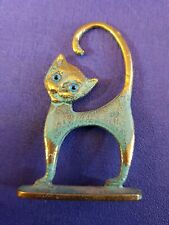 Chat bronze patiné code CH267