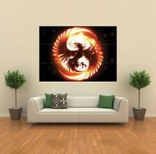 PHOENIX BIRD FANTASY  NEW GIANT POSTER WALL ART PRINT PICTURE X1390