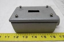 "Appleton 3/4"" Unilet Type FSE Gang Enclosure Switch Box  W/ Cover"