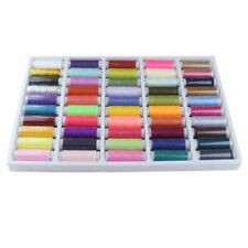 50 Colors/Set Assorted Multi-colour DIY Spools Polyester Sewing Threads