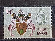 Turks And Caicos Islands 1969, 1/4c MNH V596