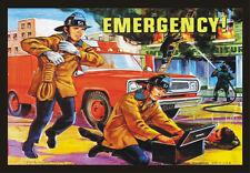 Emergency Lunch Box Artwork, Vintage, TV Show, 2x3 Souvenir Fridge Magnet TV028