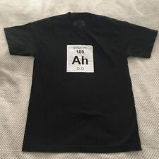 Think Geek Element Of Surprise Ah Periodic Table Funny T Shirt Unisex Small EUC